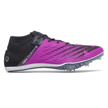 New Balance MD800v6 Spike, Voltage Violet with Black