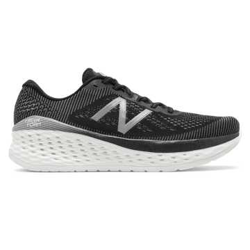 New Balance Fresh Foam More, Black with Orca