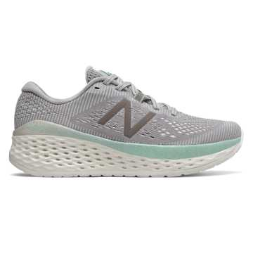 New Balance Fresh Foam More, Rain Cloud with Sea Salt & Light Reef