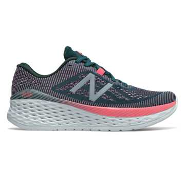 New Balance Fresh Foam More, Tropical Green with Guava & Winter Sky