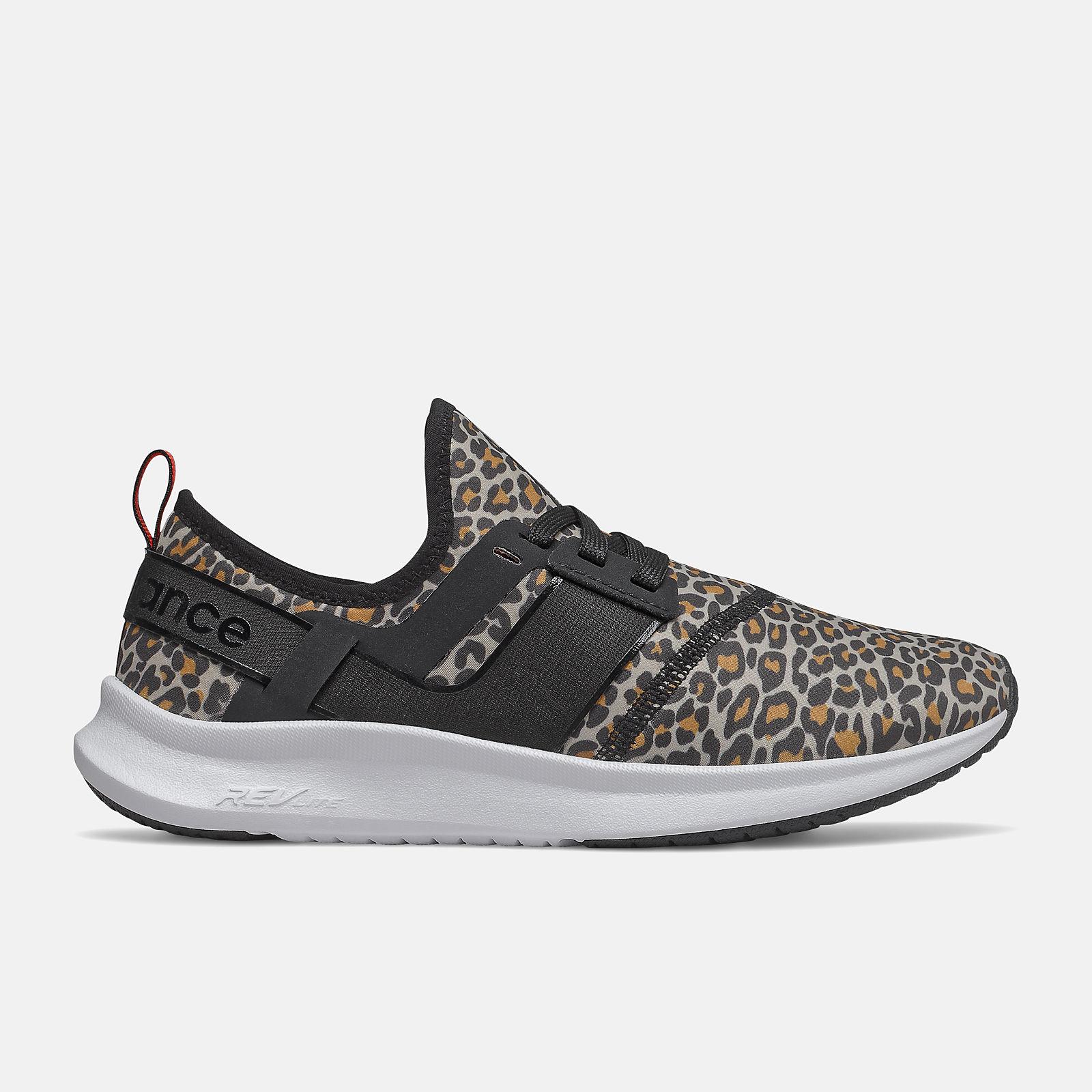 new balance 574 femme leopard