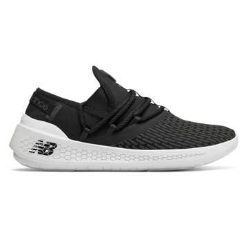 New Balance Fresh Foam Lazr NXT, Black with White
