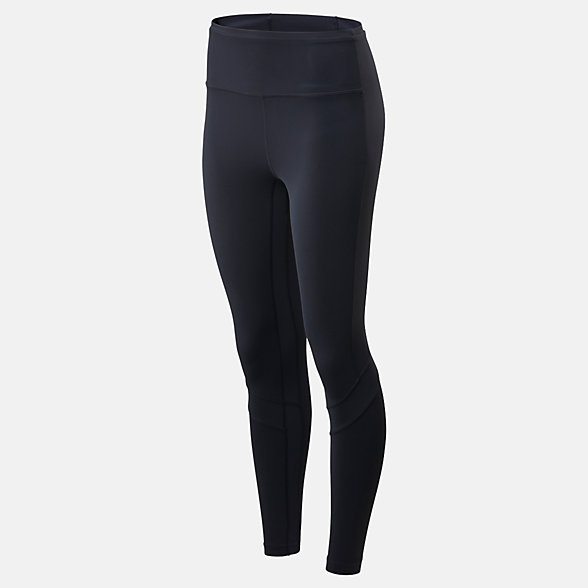 New Balance Transform High Rise 7/8 Pocket Tight, WP01140BK