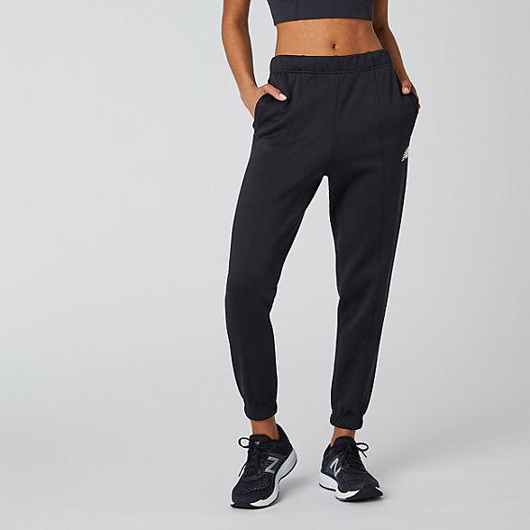 New Balance Pantalon de jogging Achiever, WP01152BK