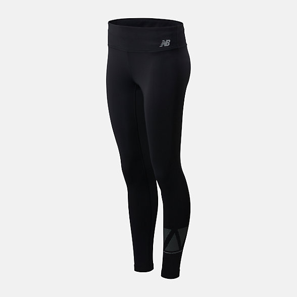 New Balance Reflective Accelerate Tight, WP01214BK