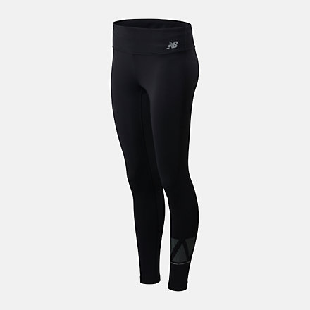 New Balance Reflective Accelerate Tight, WP01214BK image number null