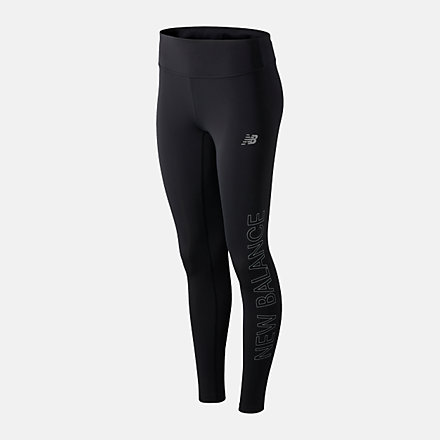 New Balance Reflective Accelerate Tight, WP01214BPT image number null