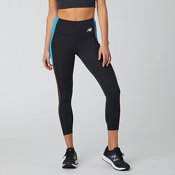 New Balance Printed Fast Flight 7/8 Tight, WP01231TOR