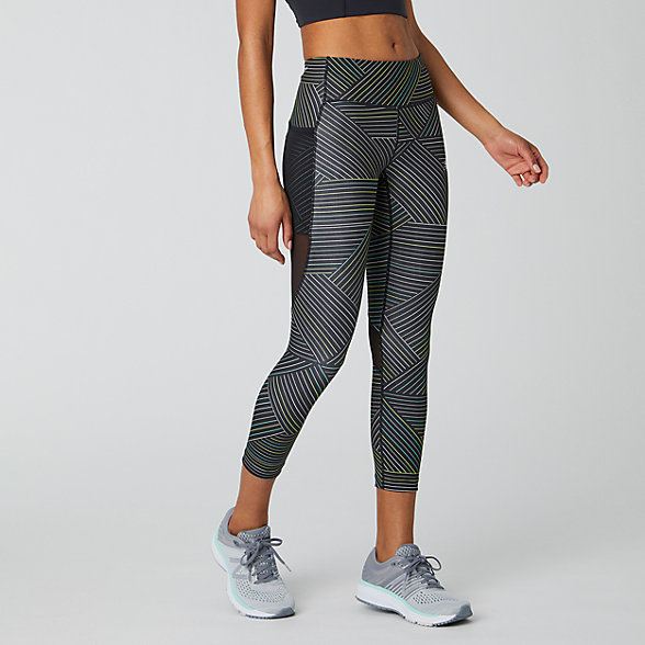 New Balance Printed Impact Run Crop, WP01246BM