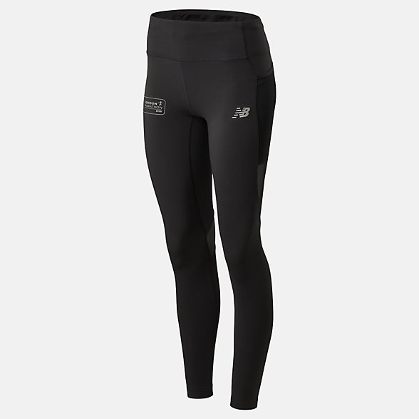 NB London Edition Impact Run Leggings, WP01247DBK