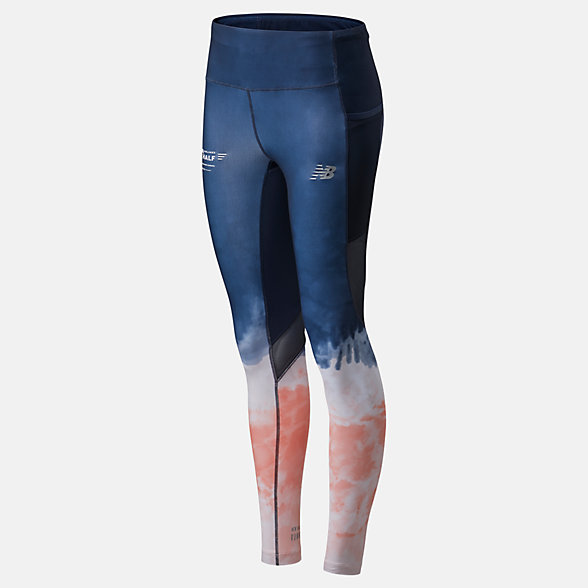 New Balance 2020 United Airlines Half Premium Printed Impact Run Tight, WP01249CMPT