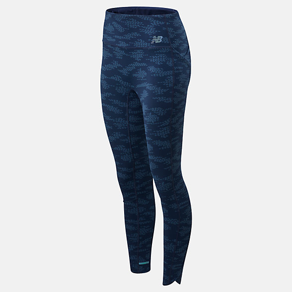 NB Q Speed Run Crew Leggings, WP01263NGO