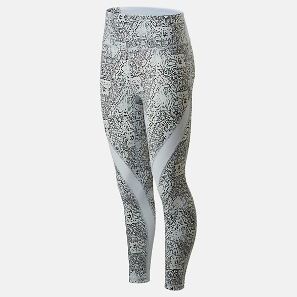 New Balance Evolve Printed Tight 2.0, WP01451MND