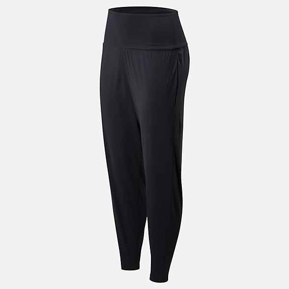 New Balance Evolve Drapey Dance Pant, WP01465BK