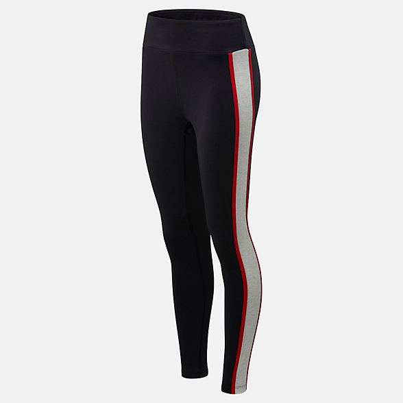 NB NB Athletics Piping Legging, WP01503BM