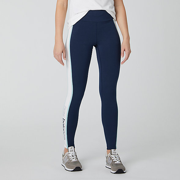 NB NB Athletics Piping Legging, WP01503DRZ