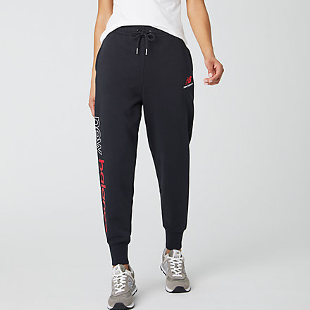 New Balance Essentials Icon Sweatpant, WP01508BK image number null