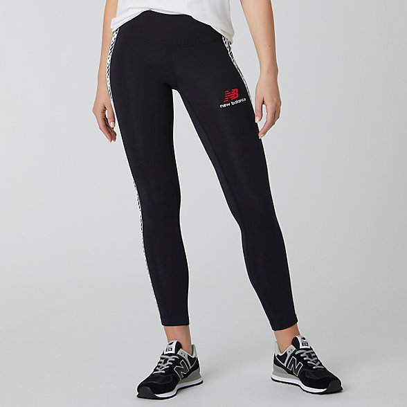 New Balance Essentials Icon Track Legging, WP01510BK