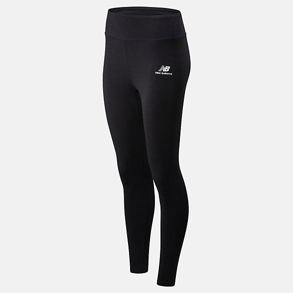 New Balance Athletics Core Legging, WP01519BK