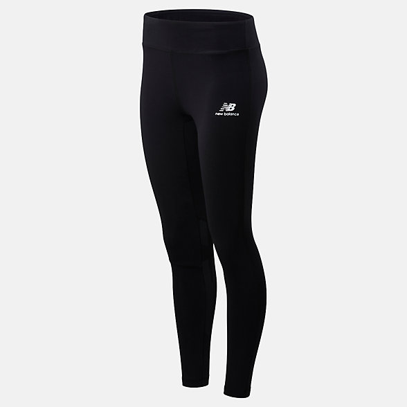 New Balance NB Athletics Logo Legging, WP01524BK