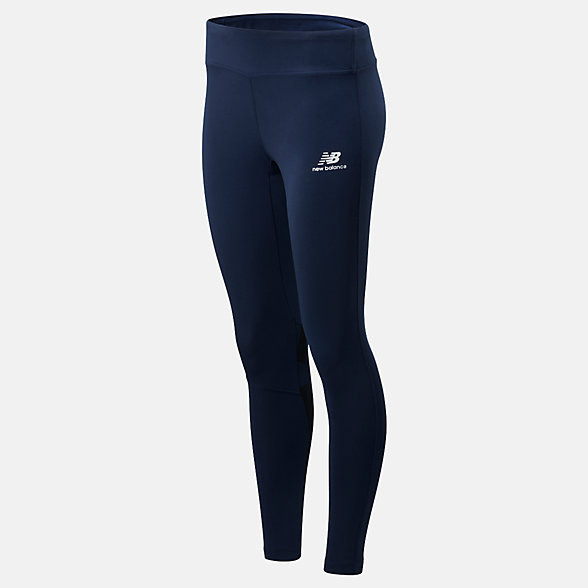 NB NB Athletics Logo Legging, WP01524NGO