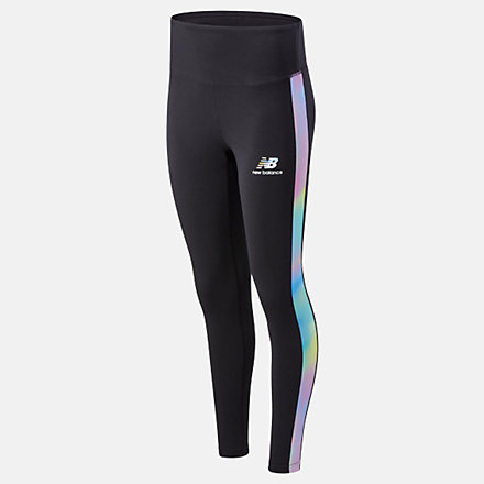 NB Essentials Soft Spectrum Legging, WP01527BK image number null