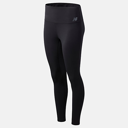 New Balance Sport High Waisted Tight DS, WP01865BK image number null