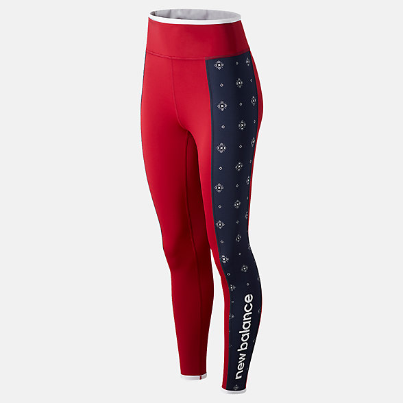 NB Achiever Bandana Blocked 7/8 Leggings, WP03135NCR