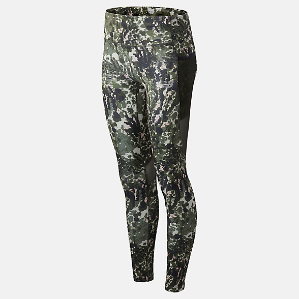 NB Leggings London Acceptance Printed Impact Run, WP03248DNTG