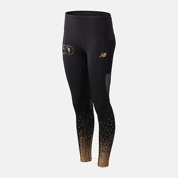 New Balance 女款速干运动紧身裤, WP03248MBM