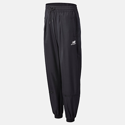 New Balance NB Athletics Podium Wind Pant, WP03503BK image number null