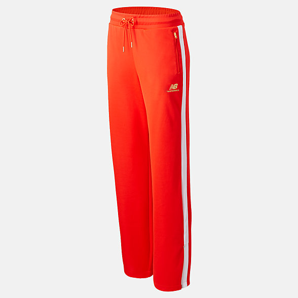 NB Pantalones NB Athletics Podium Wide Leg Track, WP03504NEF