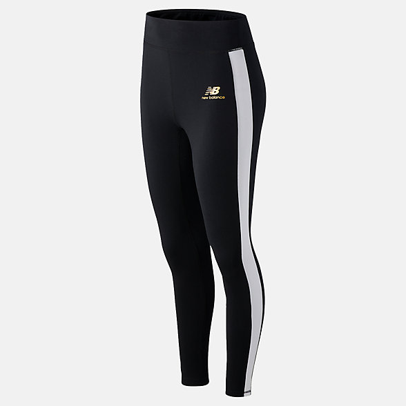 New Balance NB Athletics Podium Legging, WP03505BK