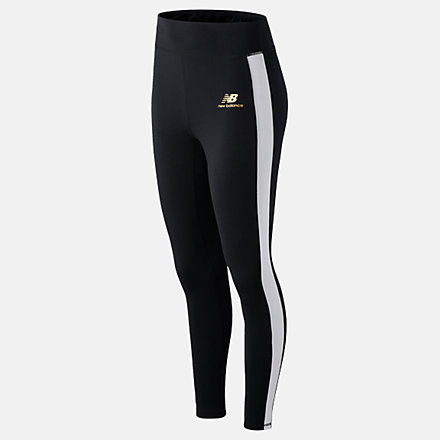 New Balance NB Athletics Podium Legging, WP03505BK image number null