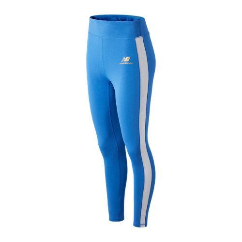 New Balance Mujer NB Athletics Podium Legging - Blue, Blue