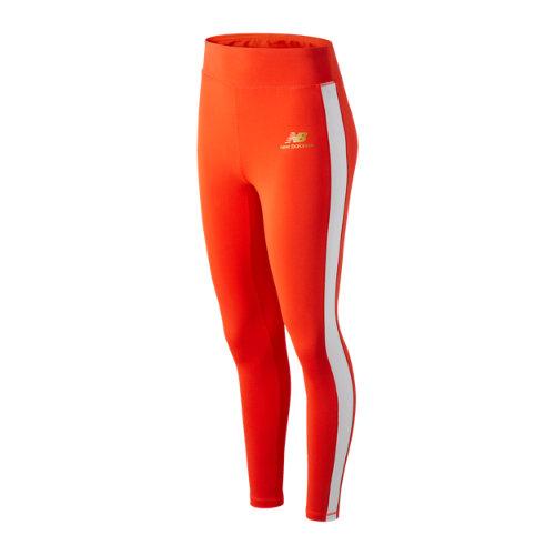 New Balance Mujer NB Athletics Podium Legging - Red, Red