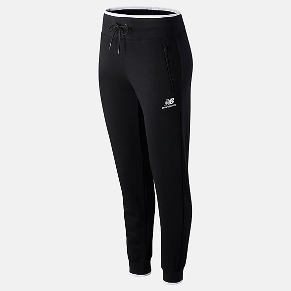 New Balance NB Athletics Village Fleece Pant, WP03506BK