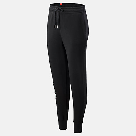 New Balance Essentials NB Speed Sweatpant, WP03507BK image number null