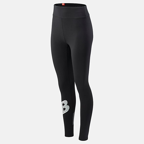 NB Essentials NB Speed Track Leggings, WP03508BK