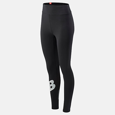 New Balance Essentials NB Speed Track Legging, WP03508BK image number null