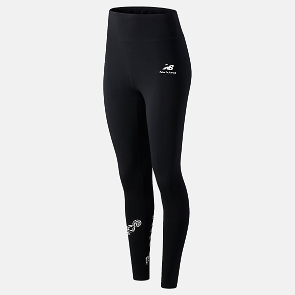 New Balance NB Athletics Animal Print Legging, WP03527BK