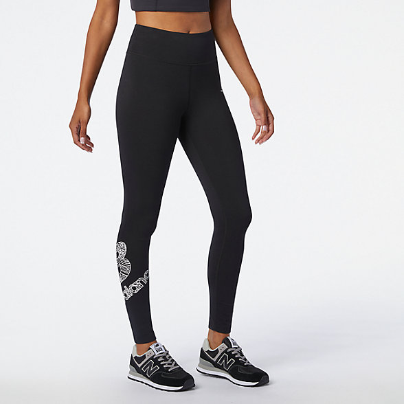 NB Leggings NB Athletics Animal Print, WP03527BK