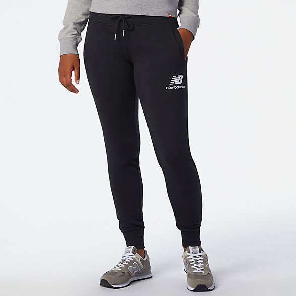 NB NB Essentials French Terry Sweatpant, WP03530BK