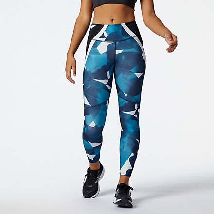 NB Transform 7/8 NBSleek Printed Tight, WP11131DSY image number null