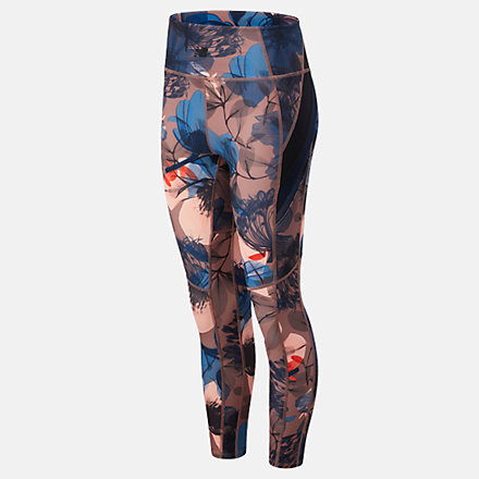 New Balance Transform 7/8 NBSleek Printed Tight, WP11131PPI image number null