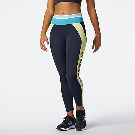 New Balance Achiever Remix High Rise 7/8 Tight, WP11156LHZ image number null