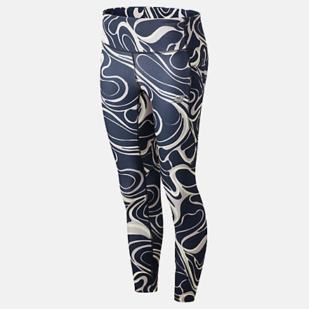 New Balance Printed Impact Run Crop, WP11262LWD image number null
