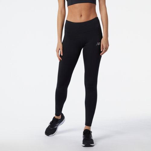 New Balance Mujer Impact Run Tight - Black, Black