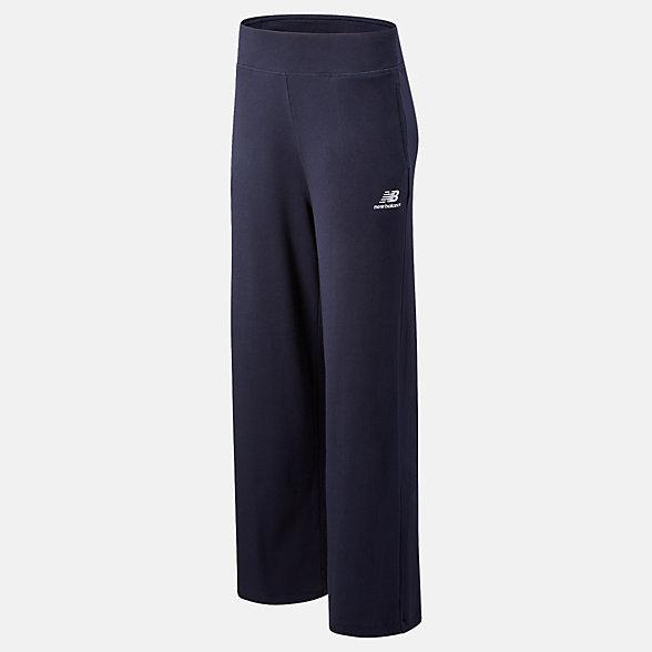 New Balance 女款针织阔腿长裤, WP11504ECL