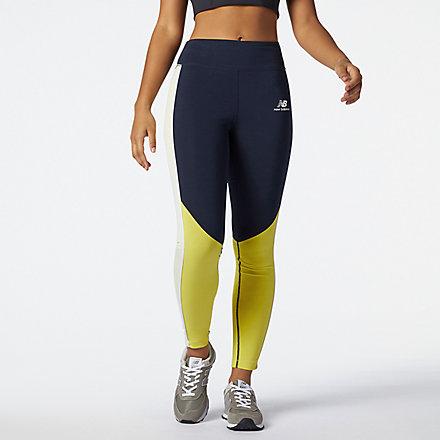New Balance NB Athletics Piping Legging, WP11506CYW image number null